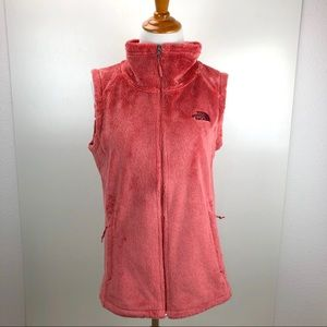 The North Face salmon color vest